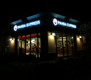 Panda Express Channel Letters Lakewood Colorado