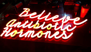 LED Neon - Denver, Colorado - Red Script Signs