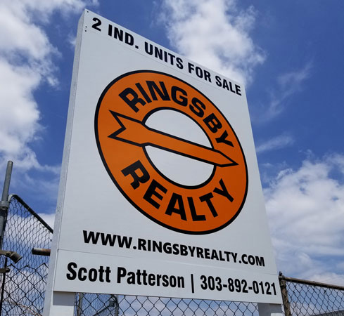 Real Estate Signs near Denver, Colorado