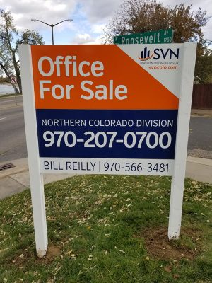 Commercial Real Estate Signs in Loveland, Colorado