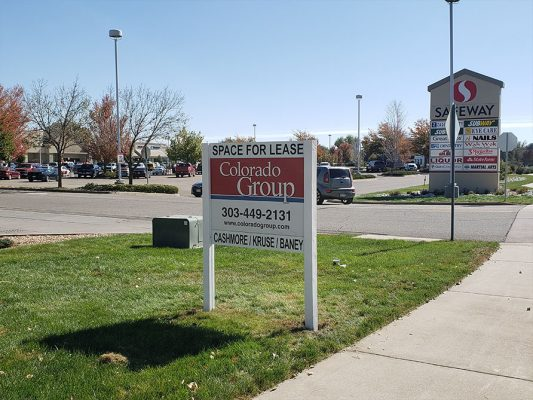 Commercial Real Estate Sign Install in Firestone, Colorado