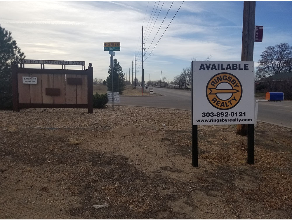 Sign Removal at 86th Court Industrial Park