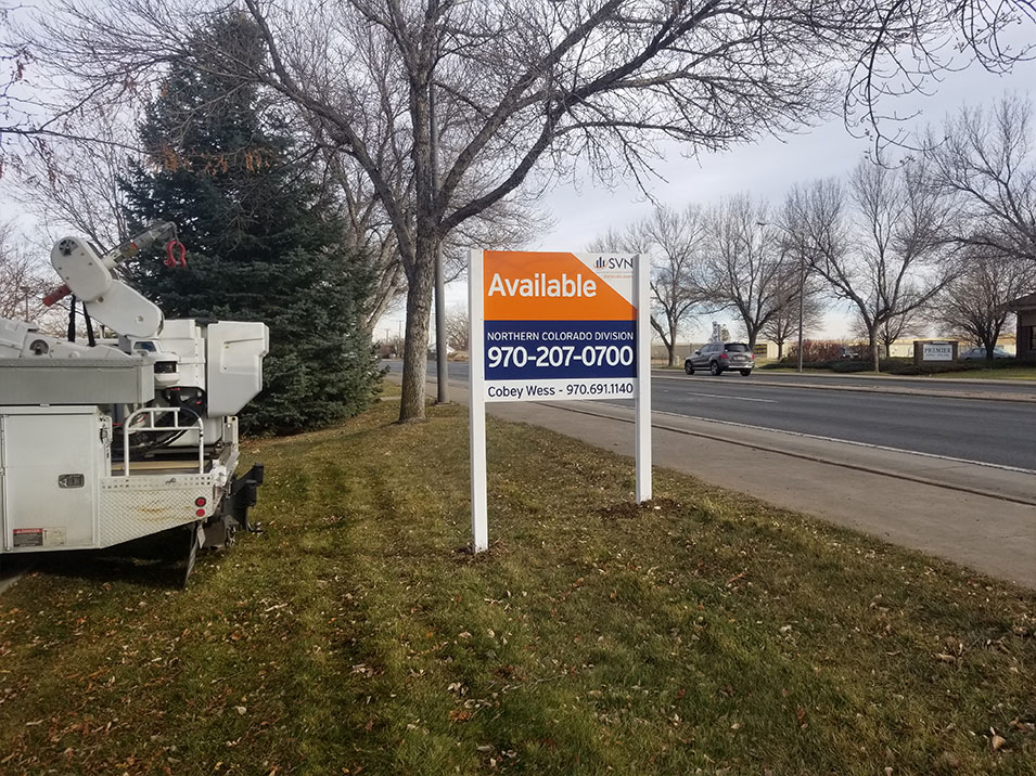 CRE Sign Install in Loveland