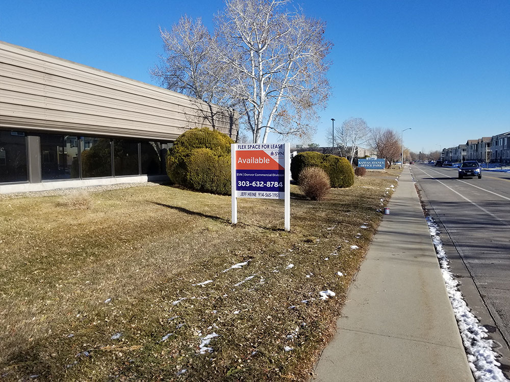 Post and Panel Sign Installation in Longmont