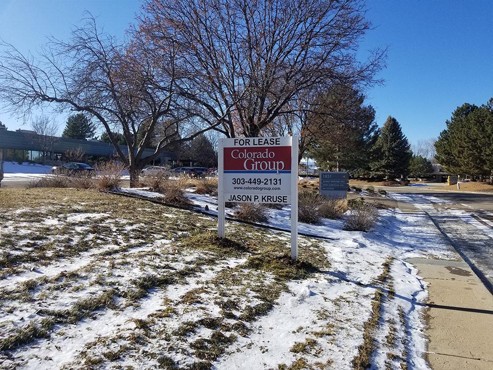 Sign Installation in Longmont, Colorado