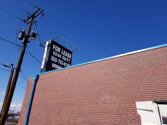 Commercial Real Estate Sign Removal in Denver, Colorado