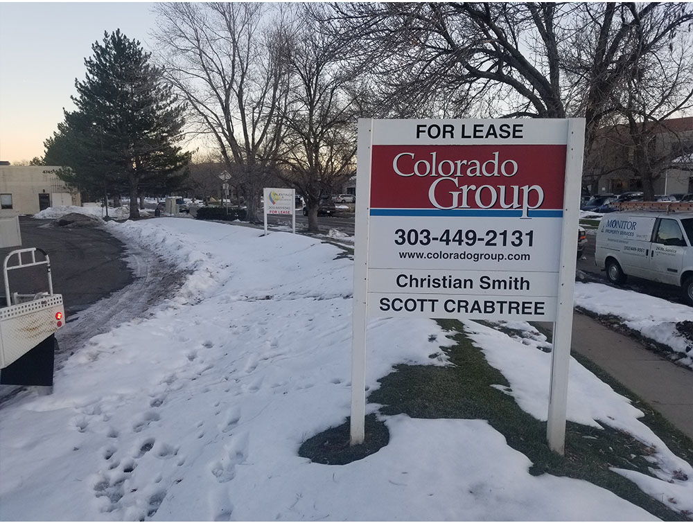 CRE Sign Removal in Boulder County
