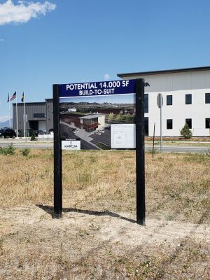 Commercial Real Estate Signage 5445 Ward Road Arvada, CO 80002
