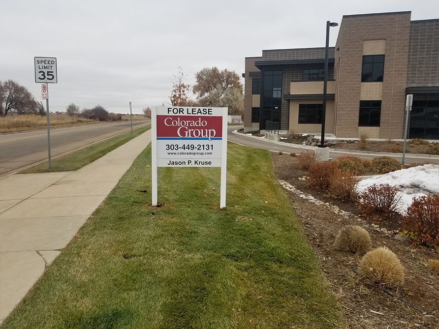 Commercial Real Estate Signs in Boulder
